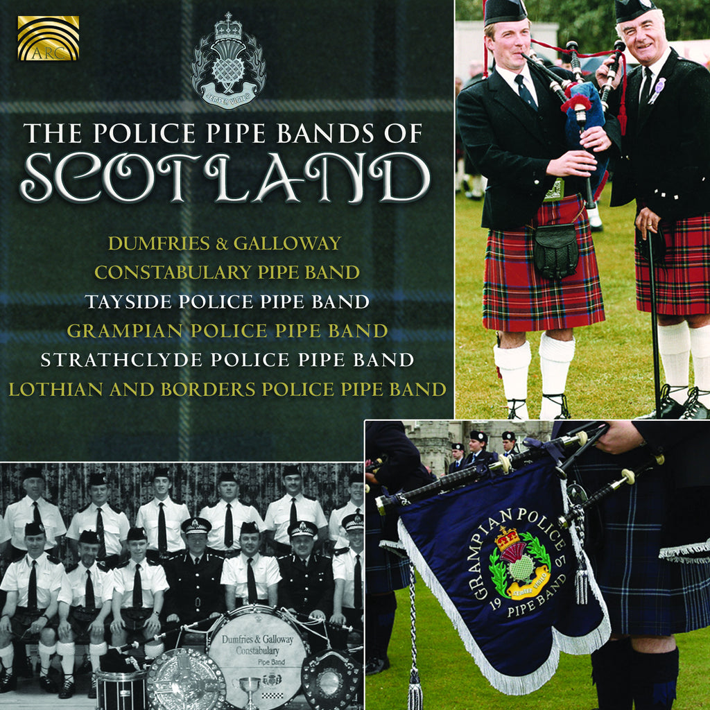 The Police Pipe Bands of Scotland