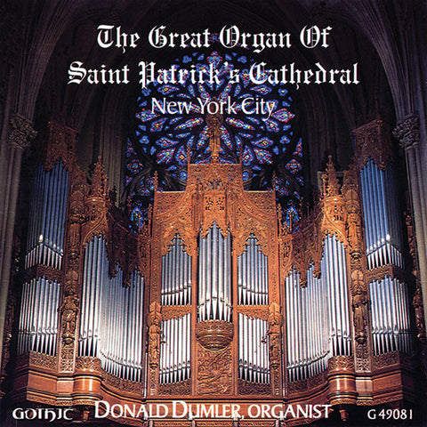 Grand Organ of St. Patrick's Cathedral