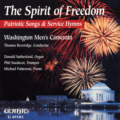 Washington Men's Camerata: The Spirit of Freedom