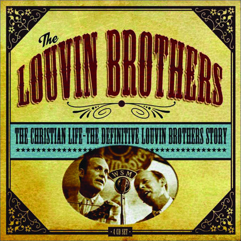 The Louvin Brothers: The Christian Life 4-CD Set