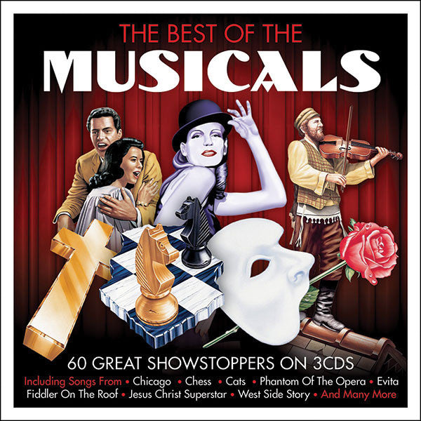 The Best of the Broadway Musicals 3CD