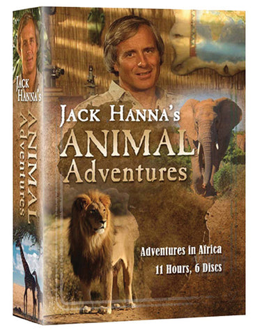 Jack Hannah's Animal Adventures 6-DVD set