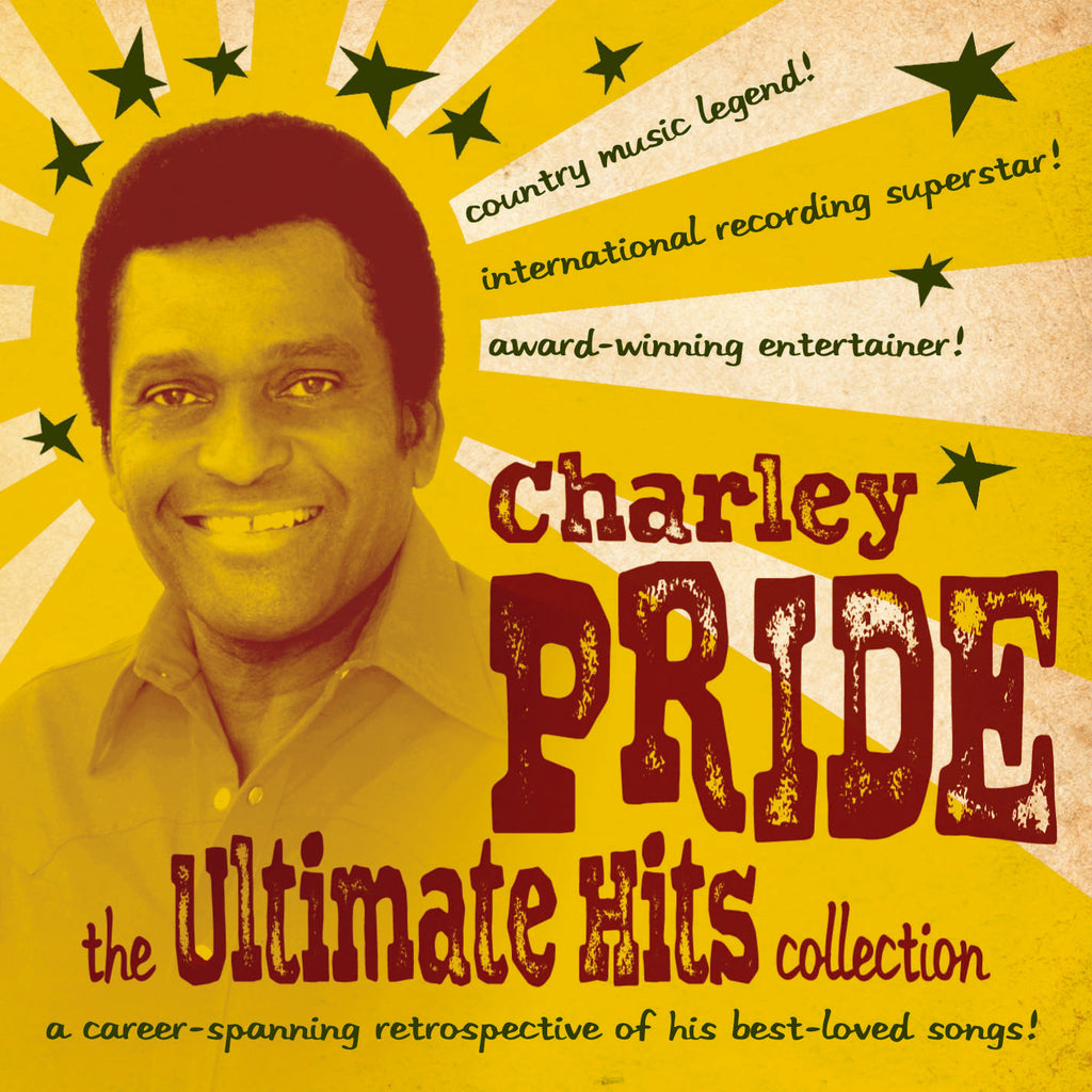 Charlie Pride Hits Best charley pride: the ultimate hits collection 2-cd set - music