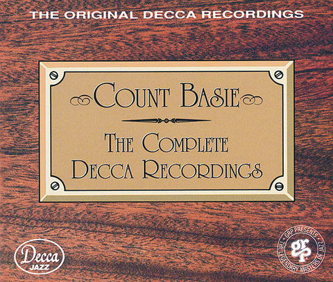 Count Basie: Complete Decca Recordings 3-CD Set