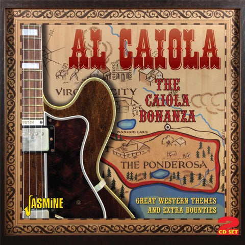 Al Caiola: Great Western Themes 2-CD Set