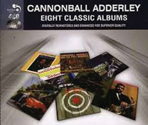 Cannonball Adderley: Eight Classic Albums 4-CD Set
