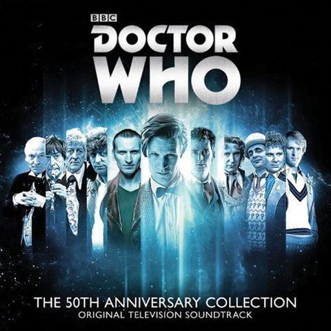 Doctor Who: The 50th Anniversary Collection Soundtrack 2-CD Set
