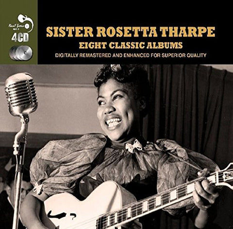 Sister Rosetta Tharpe: Eight Classic Albums 4-CD Set