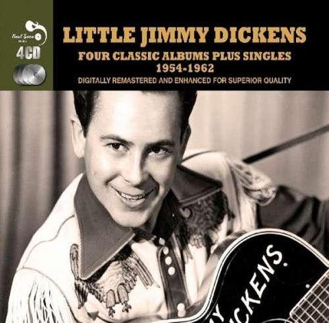 Little Jimmy Dickens: Four Classic Albums Plus 4-CD Set