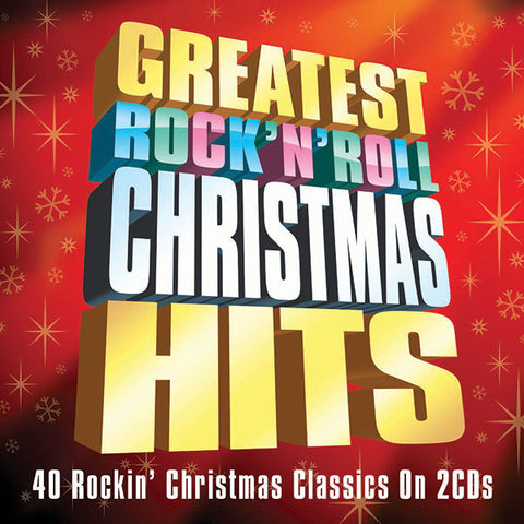 Greatest Rock n' Roll Christmas Hits 2-CD Set