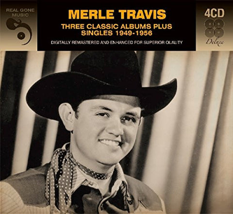 Merle Travis: Three Classics Albums Plus 4-CD Set