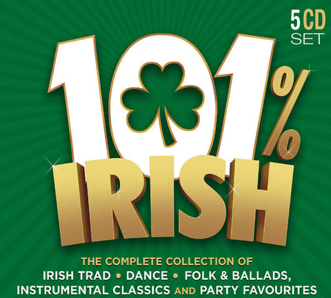 101% Irish 5-CD Set