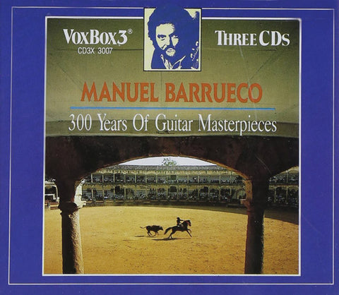 Manuel Barrueco - 300 Years Of Guitar Masterpieces CD3