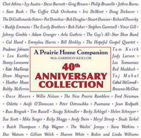 A Prairie Home Companion: 40th Anniversary Collection 4-CD Set