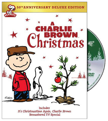 A Charlie Brown Christmas (50th Anniv) DVD