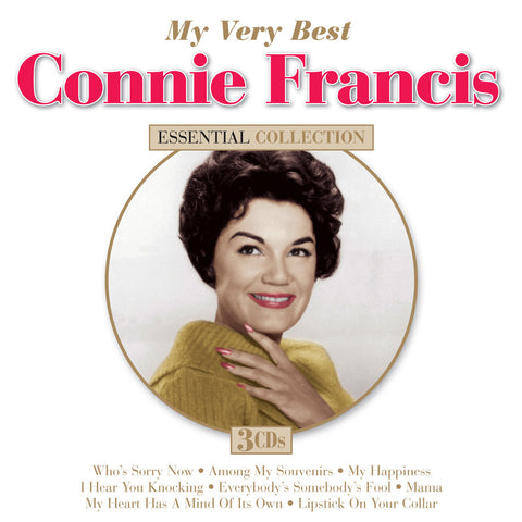 Connie Francis: My Very Best 3-CD Set