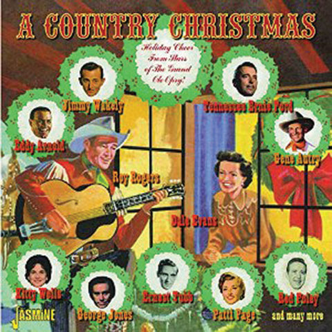 Country Christmas: Holiday Cheer from Stars of Grand Old Opry 2CD