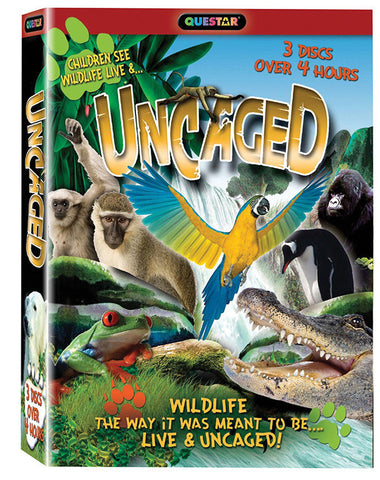 Uncaged 3-DVD Set