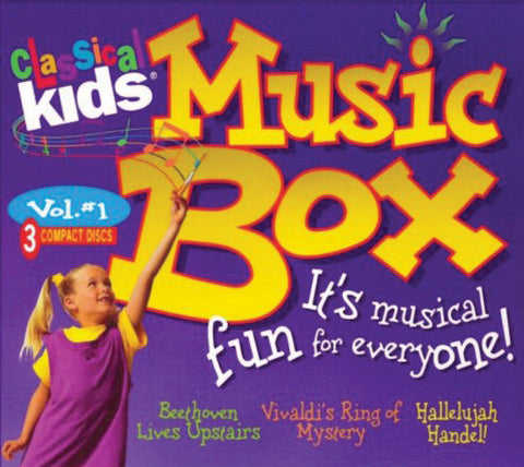 Classical Kids: Music 3CD Box Set