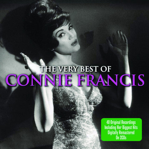 The Very Best of Connie Francis 2-CD Set
