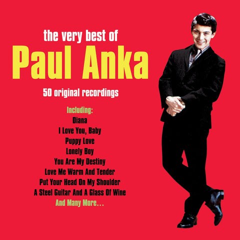Paul Anka: Very Best Of 2-CD Set