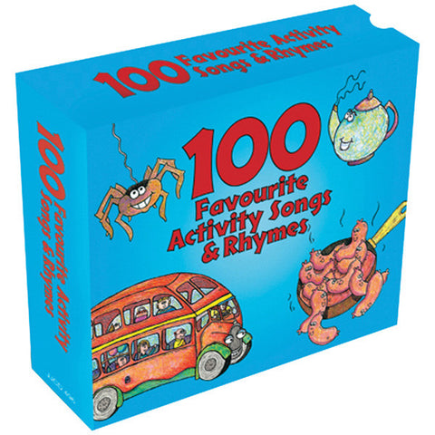 100 Favourite Activity Songs and Rhymes 3cd Box Set
