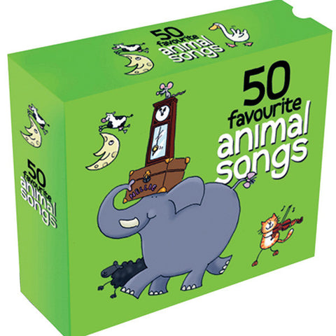 50 Favourite Animal Songs 3CD Box Set