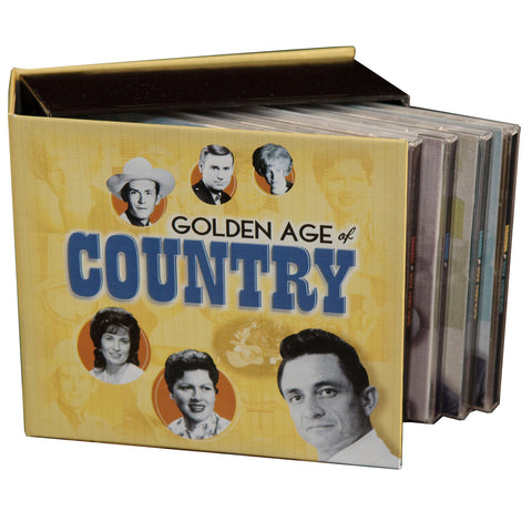 The Golden Age of Country 10-CD Box Set