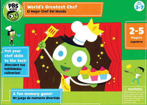 PBS Kids - World's Greatest Chef Game