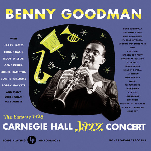 Benny Goodman: Live at Carnegie Hall 2-CD Set
