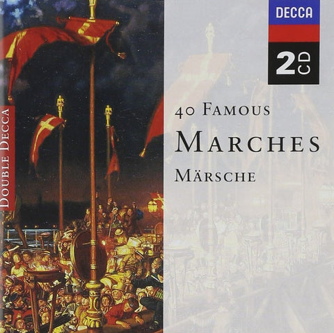 40 Famous Marches 2-CD Set