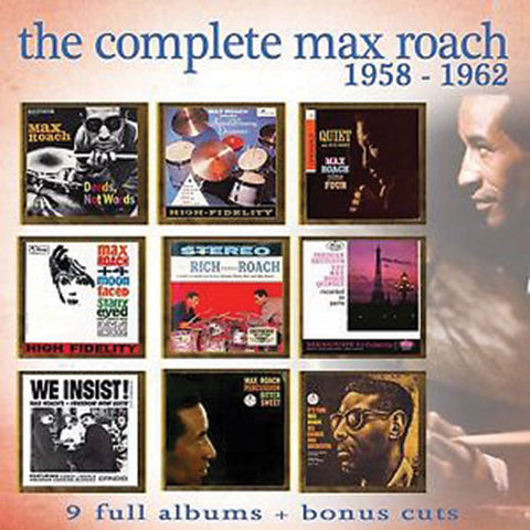 Max Roach: Complete 1958-1962 4-CD Set