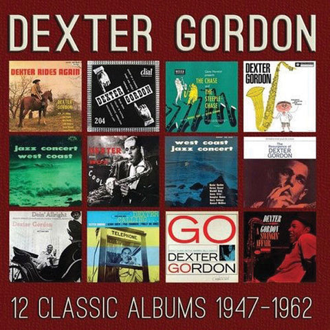 Dexter Gordon: 12 Classic Albums 1947-1962  6-CD Set