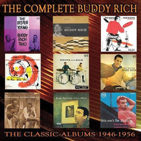 Buddy Rich: Complete 1946-1956  5-CD Set