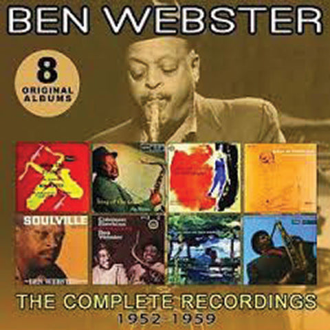 Ben Webster: Complete Recordings 1952-1959  4-CD Set