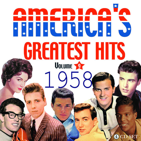 America's Greatest Hits Collection: 1958 4-CD Set