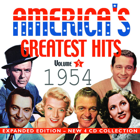 America's Greatest Hits Collection: 1954 4-CD Set