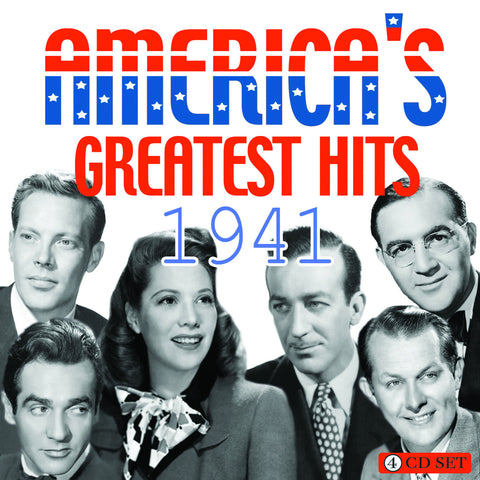 America's Greatest Hits Collection: 1941 4-CD Set