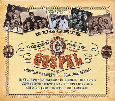 Nuggets Of The Golden Age Of Gospel 1945-1958 4-CD Set