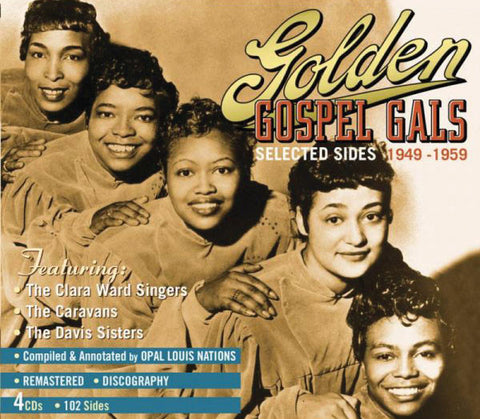 Golden Gospel Gals 4-CD Set