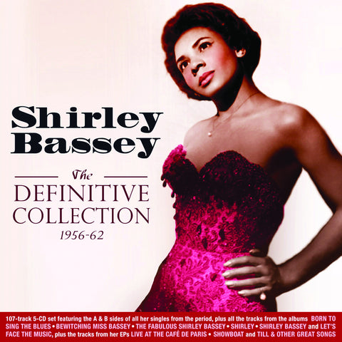 Shirley Bassey: Definitive Collection 1956-1962 5-CD Set