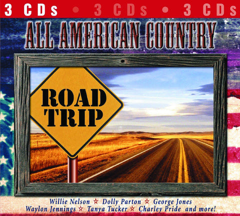 All-American Country Road Trip 3-CD Set