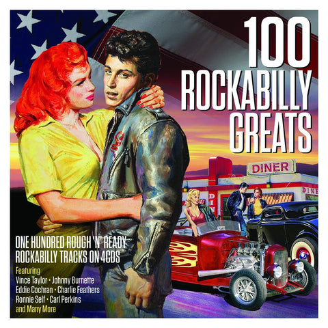 100 Rockabilly Greats 4-CD Set