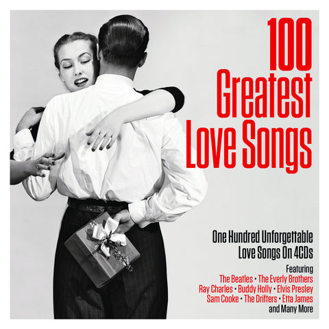 100 Greatest Love Songs 4-CD Set