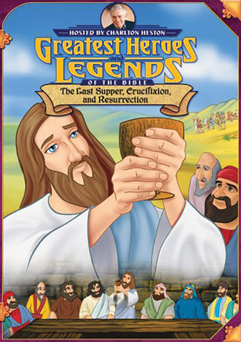 The Last Supper Crucifixion and Resurrection DVD