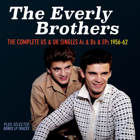 Everly Brothers: Complete US & UK Singles 3-CD Set