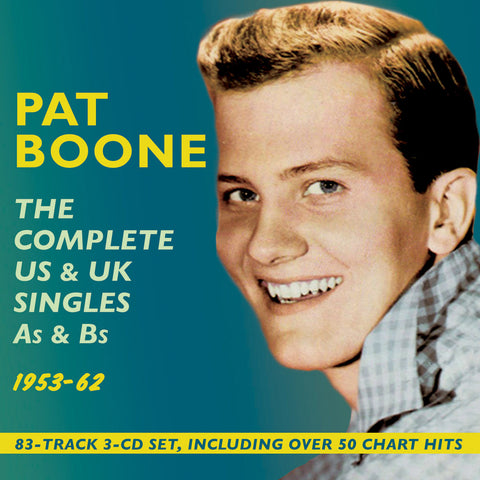 Pat Boone: Complete US & UK Singles [1953-62] 3-CD Set