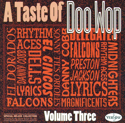 A Taste of Doo Wop: Volume 3