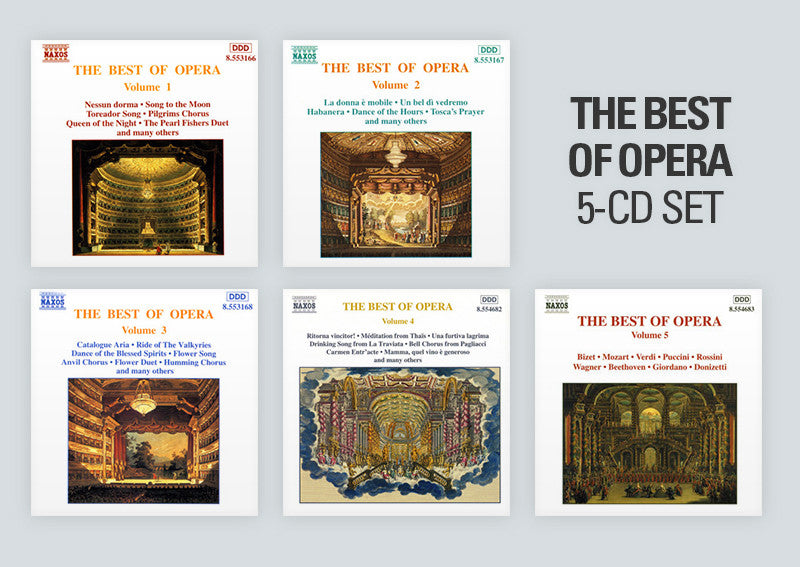 The Best of Opera 5 CD set