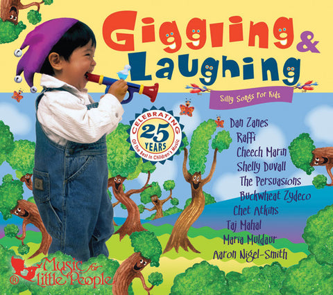 Giggling and Laughing: Silly Songs For Kids